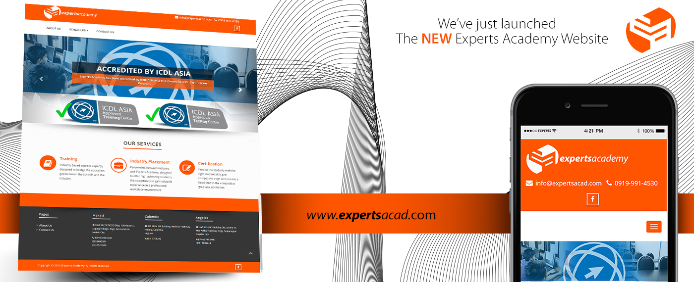 Welcome to Experts Academy's New Website